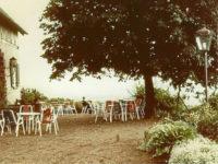 Terasse vor der Erweiterung, 1981